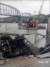 The collapse of the Silver River bridge was the dark climax of paranormal activity centered on the Ohio River in Point Pleasant, West Virginia